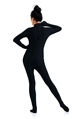 Ensnovo-Womens-One-Piece-Unitard-Full-Body-suit-Lycra-Spandex-Skin-Tights