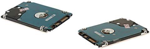 2個 ラップトップハードドライバ 2.5インチ 160GB SATA2 3GB/s 8MB 5400RPM 高速
