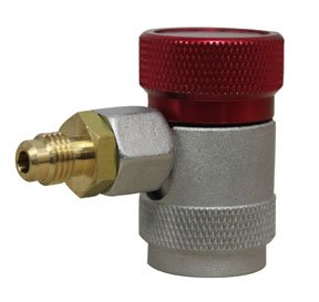 Mastercool MSC-82834-SL-E High Side Manual R134a Safety Lock Coupler 0.25 in. FL - M x 16 mm.