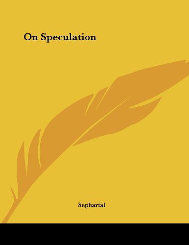 On Speculation