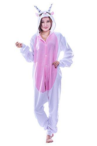 Halloween Festival Party Creative Kigurumi One Piece Pajamas Goat XL -