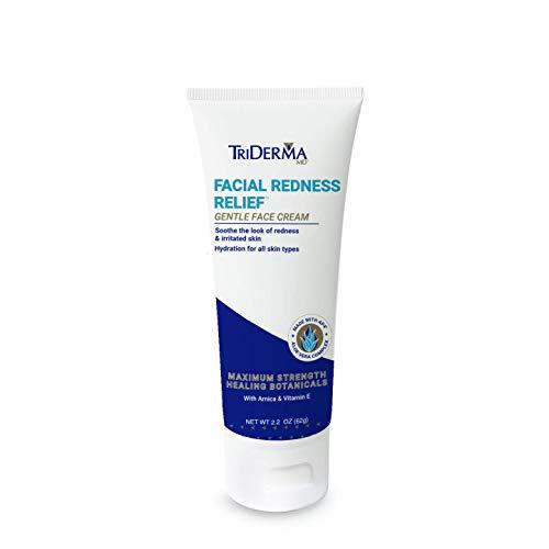 TriDerma Facial Redness Relief Face Cream (2.2 oz) (Triderma Redness Repair Facial)