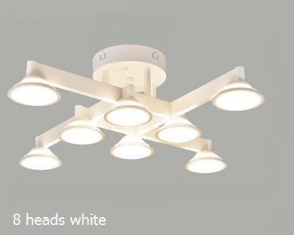 Plafoniere nordiche luci soggiorno led lampade da studio per