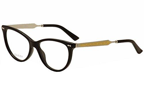 Gucci - GG 3818, Cat Eye, acetate, women, BLACK PALLADIUM(CSA), - Eye Cat Frames Gucci
