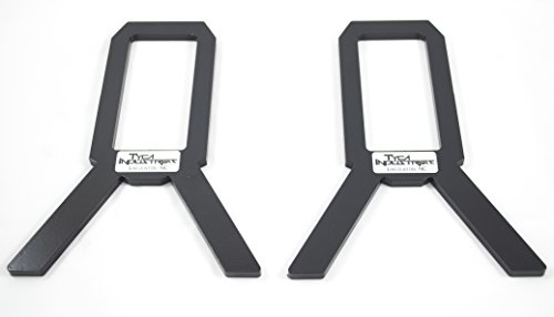 2x4 Target Stand AR500 - Version 2.0 - Powdercoated - Most P