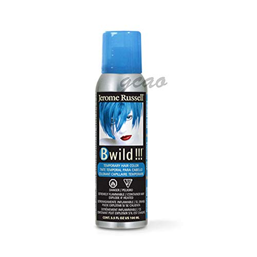 Jerome Russell B Wild (Bengal Blue) Temporary Hair Color Spray 3.5oz ()