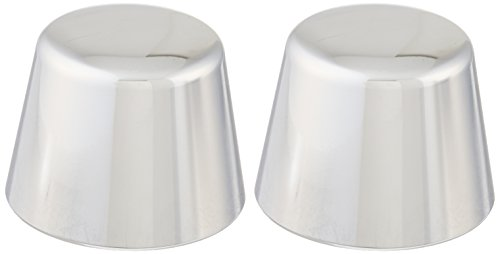 - Kuryakyn 1213 Motorcycle Accent Accessory: Front End Axle Nut Caps for 2000-07 Harley-Davidson Motorcycles, Chrome, 1 Pair
