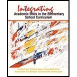 Integrating Academic Units in the Elementary School Curriculum, Sunal, Cynthia S. and McClelland, Susan, 0155039539