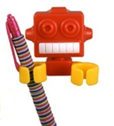 Robot Clips - Toothbrush, Pencil and Pen Holder by Streamline