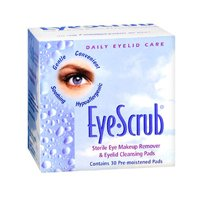 Eye Scrub Sterile Eye Makeup Remover and Eyelid Cleansing Pads Bedside Care No-Rinse Bathing and Perineal Foaming Skin Cleanser - 8 ounce - Pack of 3, Three 8 ounce bottles. By Coloplast