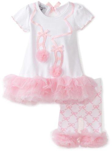 Mud Pie Baby-Girls Newborn Tiny Dancer Ballet Shoe - Mud Pie Shoes