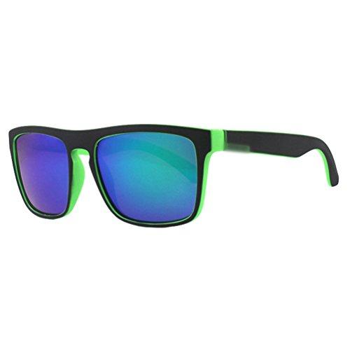 Polarisées lunettes 5 Hommes au Sport Plein volant Lunettes de Lvguang Style de Sunglasses Air Square qRIw7Wp