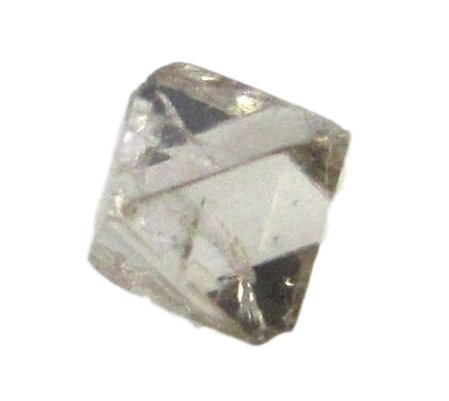 Uncut Diamond (Octahedron white loose diamond Uncut Rough for ring jewelry)