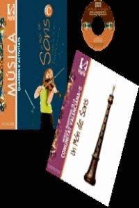 Descargar Libro Pack Quadern Un Món De Sons C + Música Tradicional Comunitat Valenciana Ii Germán Monferrer Quintana