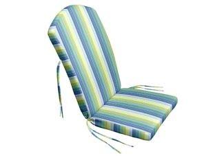 Amazon Com 47 X 21 X 2 Adirondack Chair Cushion With Ties