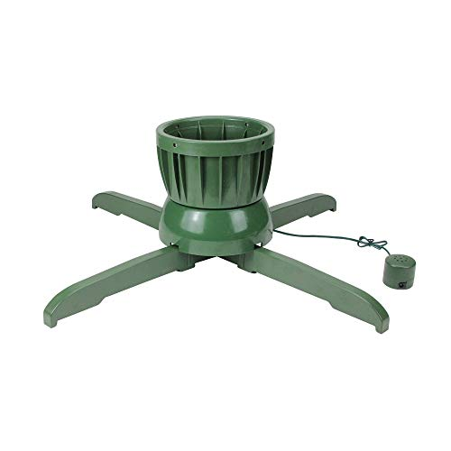 Northlight Musical Rotating Christmas Tree Stand - for Live Trees