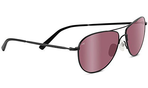 Serengeti Satin Sunglasses - Serengeti 8441-Alghero Alghero Glasses, Satin Black