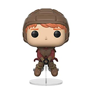 Funko Figurine Pop Vinyl-Harry Potter-Ron on Broom, 26721, Multicolore, Standard