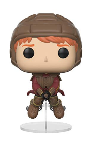Funko Pop!- 26721 Harry Potter Ron on Broom, Multicolor