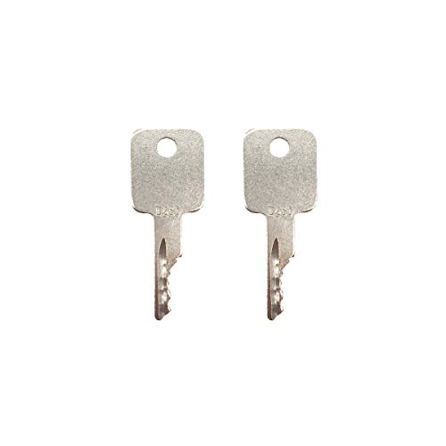 A77313 Ignition Key for Heavy Equipment Case IH Tractor Bobcat Vermeer JLG Grove Terex Timberjack 58917261 Ingersol-Rand D250