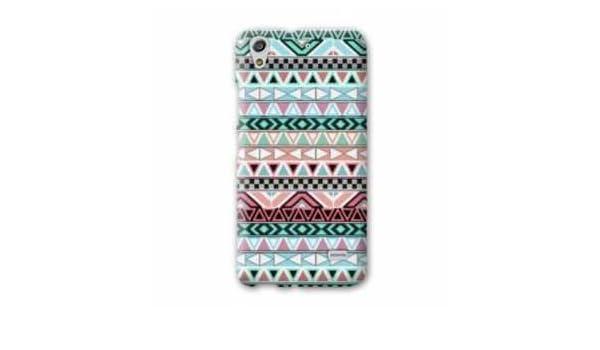 Amazon.com: Case Carcasa HTC 626 motifs Aztec azteque ...