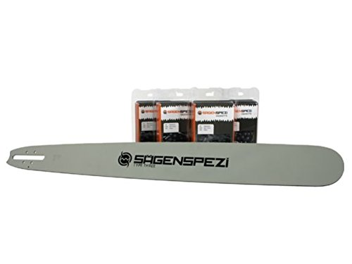 Sägenspezi 90cm Schwert 404 4 Vollmeißelketten passend für Stihl S10 S 10