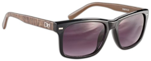 Shiny Black Brown Dice Lunettes de EtqwxOOR