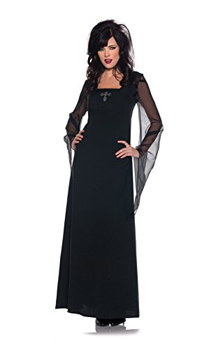 Women's Classic Vampire Costume - Contessa, Black, (Unique Women Costume Ideas)