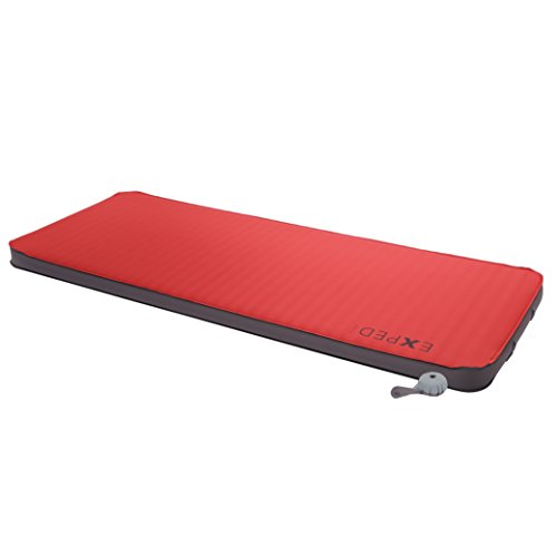 Exped Megamat 10 Insulated Self-Inflating Sleeping Pad, Ruby