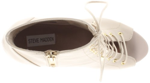 Steve Madden mucho gusto vestido Bootie Bone Leather