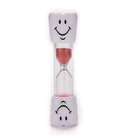 Compra Arbre Smiley Reloj de Arena, 3 Minutos Smiley Sand Kids Cepillo de Dientes Temporizador de Reloj de Arena (Rojo) en Amazon.es
