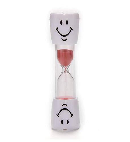 Arbre Smiley Reloj de Arena, 3 Minutos Smiley Sand Kids Cepillo de Dientes Temporizador de