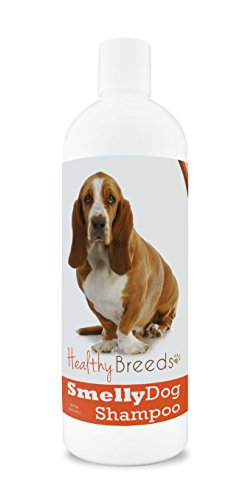 Healthy Breeds Smelly Dog Deodorizing Shampoo & Conditioner with Baking Soda for Basset Hound - Over 200 Breeds - 8 oz - Hypoallergenic for Sensitive Skin