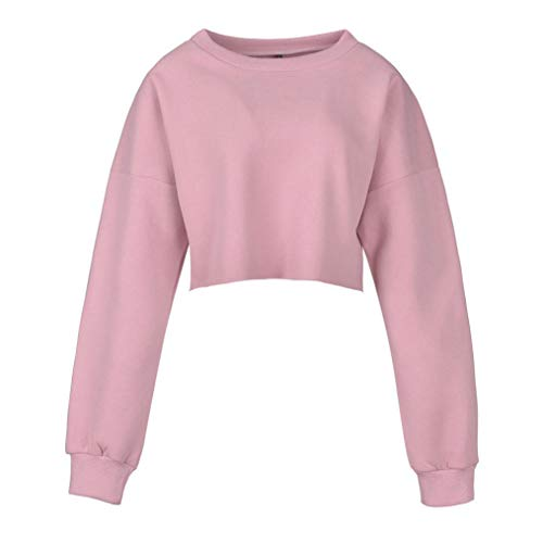 Wenjuan Blouses Shirts Floral Sexy Zip up Short Sweater Turtleneck Long Sleeve Sweatshirt Top for Women (Pink, M) from Wenjuan-Clothing Shoes & Accessories Blouse