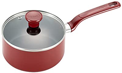T-fal Excite Nonstick Dishwasher Safe / Oven Safe PFOA Free Covered Sauce Pan Cookware