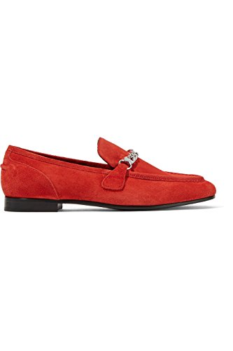 Rag & Bone Cooper Red Suede Loafer (36) by rag & bone