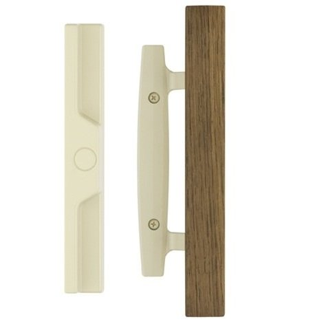 Classic Whistler Sliding Door Handle with Oak Wood – Durable hardware door locks, door hardware