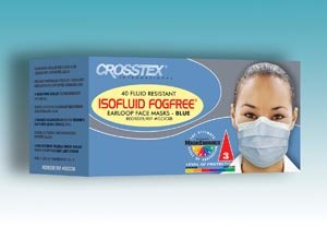 Crosstex Isofluid Fogfree® Earloop Mask Gcicxs by Crosstex International