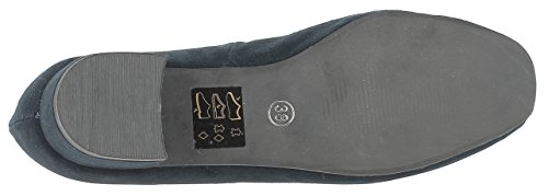 Costume Deer Ballerina Kogel Leather Navy Shoe xZS8Ox4