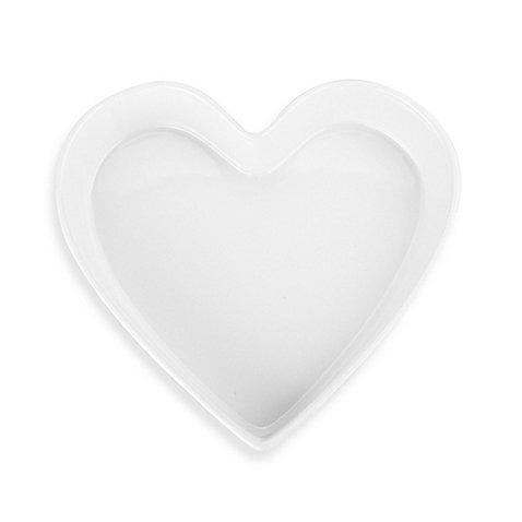 Shaped Dish Baking (BIA Cordon Bleu 10-Inch 1-Quart High-Fire Porcelain Heart-Shaped Baking Dish)