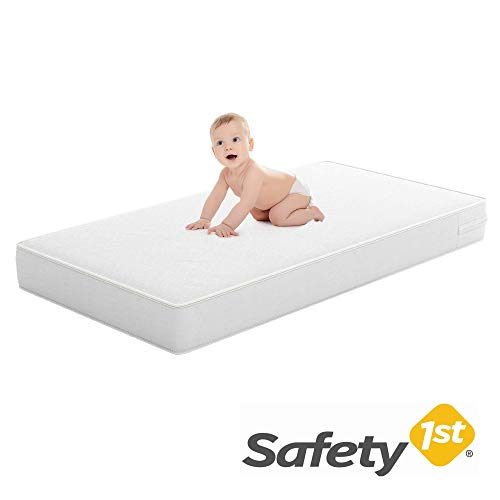 Safety 1st Heavenly Dreams White Crib & Toddler Bed Mattress