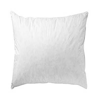 Linens Limited Relleno de Plumas de Pato para Cojines - Blanco, Ancho 60 x Largo 60 cm