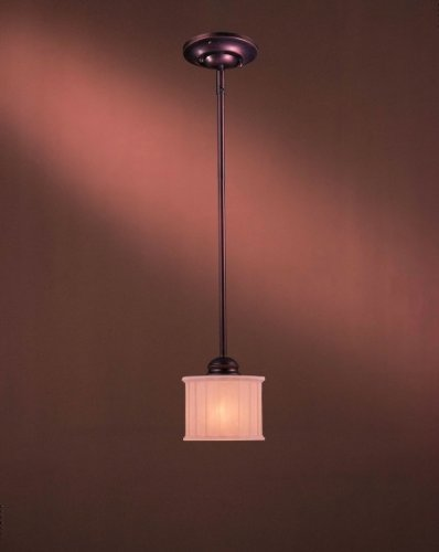 Pleat Box Pendant Light in US - 3