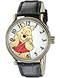 Disney Winnie the Pooh Men's W002363 Winnie the Pooh Watch with Black Band