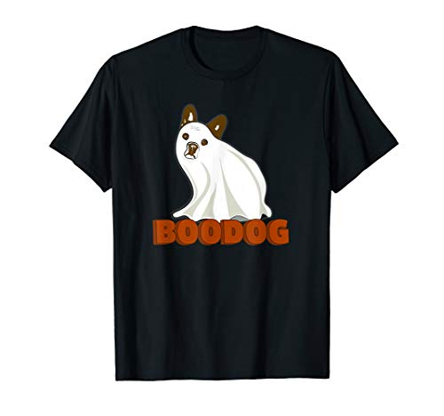 Boo Dog Costume Cute Bulldog Ghost Under