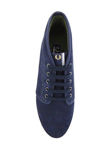 CARBON SUEDE B3174 266 Blau FLETCHER FRED BLUEE PERRY SwHqqZ