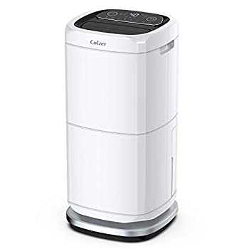 Image of COLZER 140 Pints Commercial Dehumidifier 17 Gallons Large Capacity Dehumidifiers for Basements, Showrooms, Gallery, Storage Rooms, Warehouse, with 17-Pint Water Tank and 6.6 ft. Drain Hose Dehumidifiers