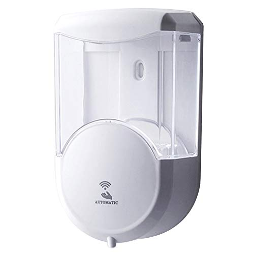 LamicAR 600ml Foaming Soap Dispensers Intelligent Auto Induction Hand Washing Machine White ()