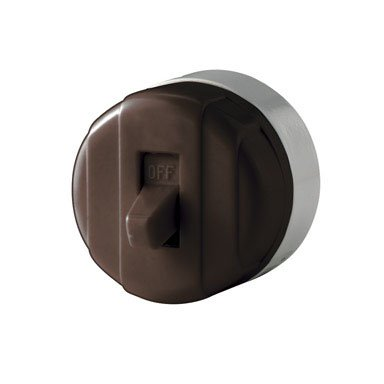 Cooper Wiring Surface Mount Switch Heavy Duty 10 A 125 V Brown Bulk - Cooper Surface Mount