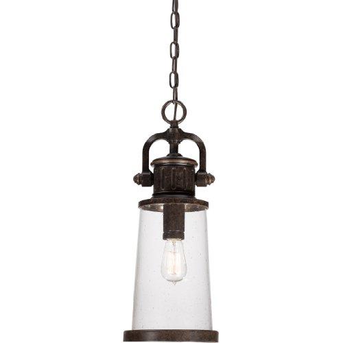 Quoizel SDN1908IB Steadman Outdoor Pendant Ceiling Lighting, 1-Light, 100 Watt, Imperial Bronze (21